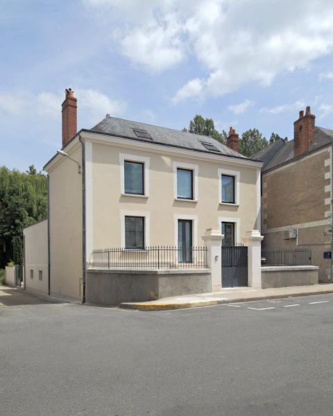 extension maison pl la membrolle sur choisille maes dominique architecte. Black Bedroom Furniture Sets. Home Design Ideas